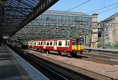 314205 Glasgow Central (CD Sansome) Tags: 314 314205 glasgow central station strathclyde pte scotrail trains