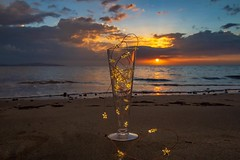 ..Sunset in Paradise... (SpaceCadet37) Tags: fiji pacific summer beach ocean nature shore sky sunset clouds canon canonaustralia canonusa mariobekes mariobekesphotography luxury jetset exqusite art longexposure