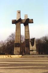 Poznań June 1956 Monument (Ray's Photo Collection) Tags: poland polish winter snow tour rail poznań poznan june 1956 monument memorial