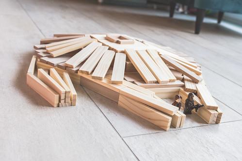 wooden milenium falcon