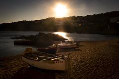 Golden colours (Salva Pagès) Tags: playa platja beach plage calelladepalafrugell calella palafrugell postadesol afternoon atardecer sunset sun sol soleil contrallum contraluz backlight baixemporda catalunya catalonia