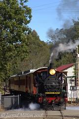 Departure (Mittens_97) Tags: steam steamtrain train ipswich qld heritage old railway tourist australia australianbuilt australiansteam queensland qpsr queenslandpioneersteamrailway pb15 448 pb15448 swanbank