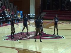 Zuzu Acrobats On The Move (dougmartin571) Tags: roanokecollege lynchburghornets roanokemaroons maroonsathletics basketball americasgottalent agt zuzuacrobats maroonathletics roanokecollegeathletics