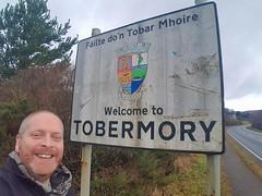 Arriving in Tobermory (Donald Morrison) Tags: sign isleofmull salen tobermory sea coast autumn scotland highlands