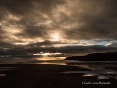 Sunset over Caswell Bay 2019 01 25 #11 (Gareth Lovering Photography 5,000,061) Tags: sunset sun sunny sunshine caswell gowercoast gower swansea wales seaside landscape beach walescostalpath olympus penf garethloveringphotography