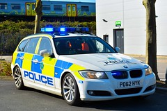 PO62 HYK (S11 AUN) Tags: merseyside police bmw 330d estate touring anpr traffic car roads policing unit rpu motor patrols nwmpg northwestmotorwaypolicegroup 999 emergency vehicle po62hyk