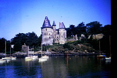 Pornic, France (rossendale2016) Tags: resort holiday seaside boats roof steep sloping icon iconic fashioned old water sea france chateau pornic