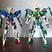 LEGO Gundam Exia & Gundam Dynames (Mobile Suit Gundam 00)