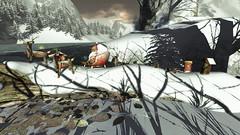 Santa Claus... (ღMandarine12ღ) Tags: snowfalls decor landscape land sl secondlife
