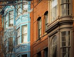 Old Port - Portland, ME (davetherrienphoto) Tags: seaport glass victorian window brick historic maine portland downtown