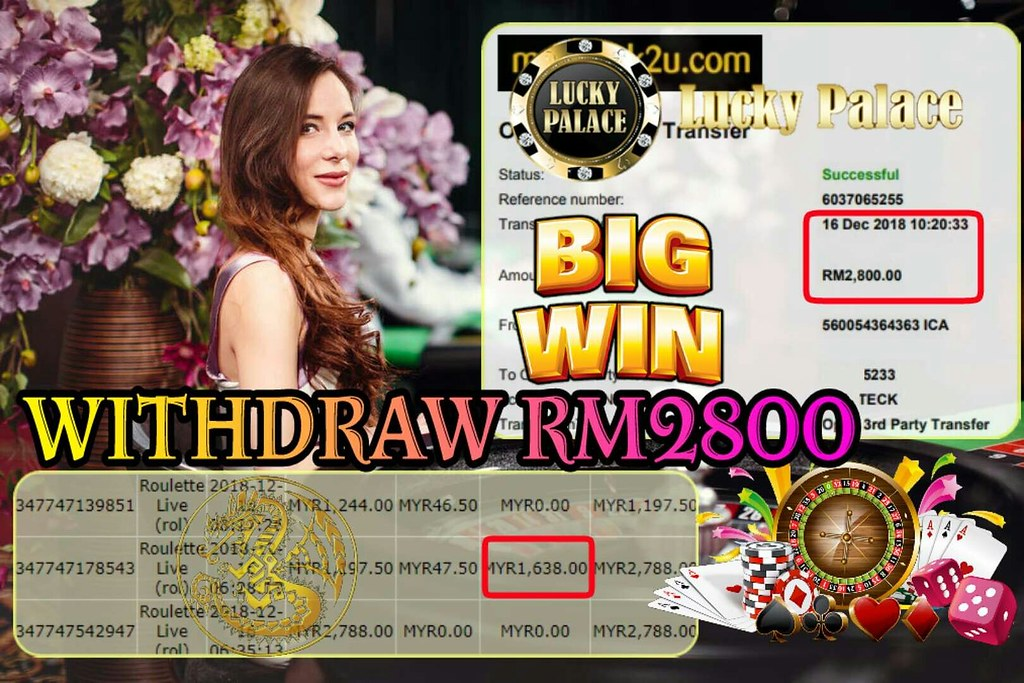 LUCKY PALACE ❗️ROULETTE LIVE❗ BIGWIN NONSTOP Withdraw RM2800