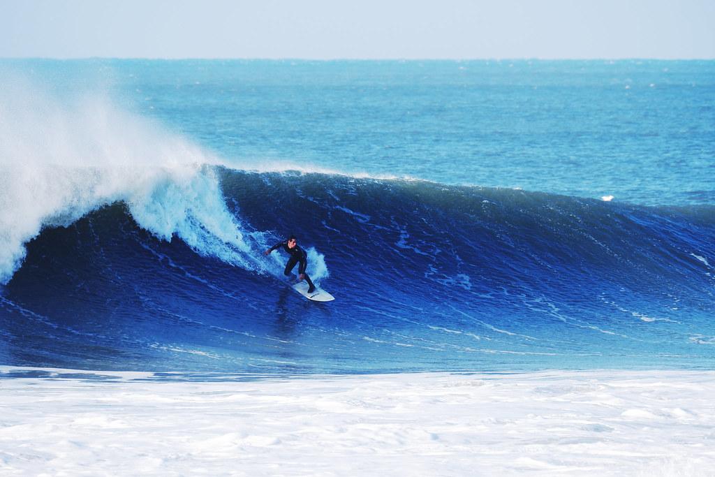 Big Wave Surfing North Devon Croyde Bay