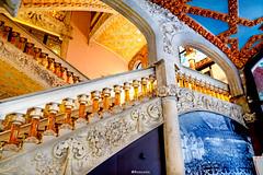 Palau de la Música Catalana (rossendgricasas) Tags: palaudelamusica palaudelamúsicacatalana musica architecture modernisme artnouveau barcelona catalonia catalanrepublic photo photoshop color colorimage nikon tamron