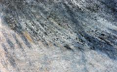 Rubbed (jaxxon) Tags: 2018 d610 nikond610 jaxxon jacksoncarson nikon nikkor lens nikon105mmf28gvrmicro nikkor105mmf28gvrmicro 105mmf28gvrmicro 105mmf28 105mm macro micro prime fixed pro abstract abstraction concrete sidewalk street road surface texture rubber tire tires tread track tracks shredded turn turning skid skidmark skidmarks mark marks burnrubber urban