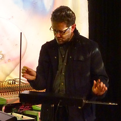 Chris Conway at Quadelectronic 127 (unclechristo) Tags: chrisconway quadelectronic theremin