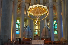 The Altar at Sagrada Familia (jdf_92) Tags: spain barcelona sagradafamília catalan antonigaudí church