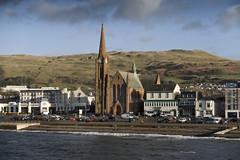 Largs (Romeo Mike Charlie) Tags: largs stcolumba church scotland ayrshire firthofclyde hill beach