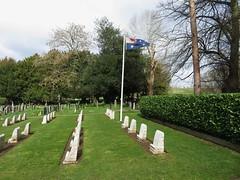 St Mary's Churchyard Harefield (portemolitor) Tags: london hillingdon harefield stmaryschurchyard st marys churchyard australian war memorial graves cemetery anzac