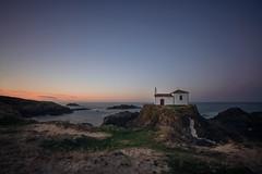 "Ermita ""Virxe do Porto"" (Jesús Iglesias Mirad) Tags: spain españa monument monumento hermitage ermita virxedoporto valdoviño ferrolterra sea mar night anochecer"