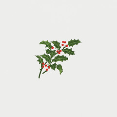 Vintage Christmas holly branch (Free Public Domain Illustrations by rawpixel) Tags: kwan mynt pdcomposite pdproject20 pdproject20batch44 pdproject22 por vector pdproject20batch44x antique art arts artwork border card celebration christmas christmascard classic decor decoration design dinner drawing festive green greeting greetings handwritten historic historical history holiday holly hotel illustration invitation leaf leaves letter lettering menu merry merrychristmas name ornament ornamental painting plant print publicdomain retro script season seasonal style traditional vintage winter xmas
