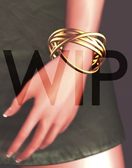 WIP (Ascurb) Tags: liberté liberte bracelet pack mesh accessorie accessories metal metals black gold silver copper wip world up