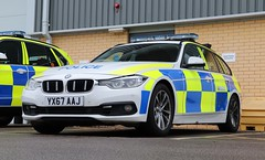 YX67 AAJ (Ben - NorthEast Photographer) Tags: humberside police hull bmw 330d estate traffic car motor patrols rpu roads policing unit base anpr automatic number plate recognition camera system 67plate yx67 aaj yx67aaj