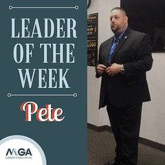 Give three cheers for our Leader of the Week, Pete! 🎉🍻 Pete is a natural-born leader that does everything he can to make sure his team succeeds! We can't wait to see how 2019 will turn out for him! 🙌✨ • • • • • #mgabusines (MGABusinessConsulting) Tags: mga business consulting phoenix team entrepreneurship company culture small leadership development built for success