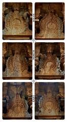 "Nasigai Designs @ Thiruperumanandar Temple- Madathu Koyil -Nangupatti-Pudukottai District. (Kalai ""N"" Koyil) Tags: nikon d 5200 kalainkoyil asi trichirapalli nangupatti narthamalai kulathur odukkur pudukottai district tamilnadu southindiantemple architecture 18140mm"