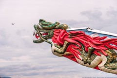 The Japanese Dragon Snapping at Airplanes (MIKOFOX ⌘ The Purge IS Wrong!) Tags: canada figurehead plane art summer xt2 vancouver learnfromexif july provia fujifilmxt2 mikofox britishcolumbia showyourexif xf18135mmf3556rlmoiswr