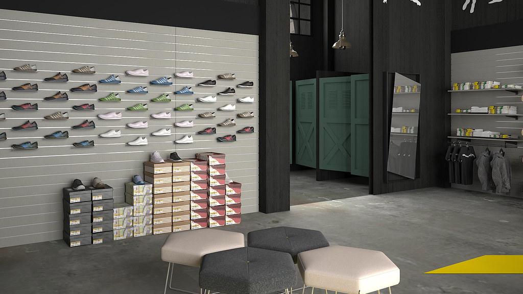 33b2f3b589e Εξοπλισμός καταστήματος αθλητικών παπουτσιών (duralstores) Tags: εξοπλισμοσ  καταστηματων παπουτσιων ραφια. Έπιπλα για κατάστημα Ειδών ...