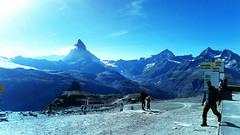 D20096.  The Matterhorn. (Ron Fisher) Tags: schweiz suisse svizzera switzerland kantonwallis valais cantonvallese europa europe zermatt mountain snow glacier gletcher diealpen thealps swissalps alpessuisses schweizeralpen alpisvizzere sony sonyxperia mobilephone