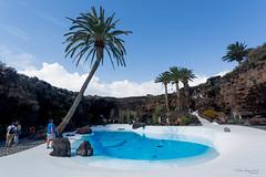 Lake (piotr_szymanek) Tags: lanzarote cave lava palm tree lake blue water white rock sky 1k outdoor 20f 5k
