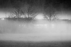 Remember: Out of the Fog (jcurtis4082) Tags: hamilton 40150mm barn f28 squalicumimages squalicum black white bw