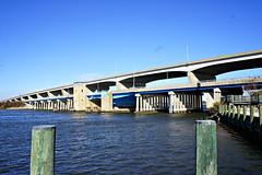 Kent Narrows Bridges (Throwingbull) Tags: stevensville kent island md maryland eastern shore narrows bridge bridges us route 50 old new
