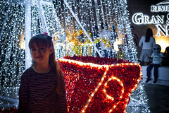 When you see it Color (Esaú Alberto Canto Novelo) Tags: gransantafenorte navidad parques plazagransantafe christmas three arbol navideño luces lights nightphoto potrait outdoors outside mérida