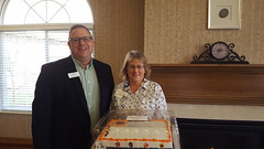 Neptune Society Indianapolis, IN - Sponsors Monthly Resident Birthday Celebration at Local Nursing Center
