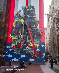 """Braves of 9/11"" Mural (2018) by Eduardo Kobra, Midtown East, Manhattan, New York City (jag9889) Tags: 2018 20181203 911 9112001 architecture bravest brazil building collapse color eduardokobra fdny firedepartment firedepartmentofthecityofnewyork firefighters firefighter firstresponder graffiti groundzero house kobra manhattan midtown midtowneast monumental mural muralist ny nyc newyork newyorkcity newyorkcityfiredepartment newyorksbravest outdoor painting people streetart streetartist tagging terroristattack usa unitedstates unitedstatesofamerica wtc wall worldtradecenter jag9889"