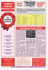 Liverpool vs Blackburn Rovers - 1991 - Page 28 (The Sky Strikers) Tags: liverpool blackburn rovers fa cup road to wembley the anfield review one pound