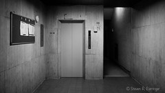 elevator, ground floor (steve: they can't all be zingers!!! (primus)) Tags: sonya7r canonfd28mmf28 wideangle wide canon 28mm 28mm28 primelens prime primecanonlens monochrome bw blackwhite blackwhitephotos taiwan taichungtaiwan taichung