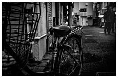 Yokosuka Story (Takahiro Hiroki) Tags: スナップ snap bnw 散歩 walking 横須賀 nikon street blackandwhite monochrome yokosuka japan bike 路地 飲み屋街