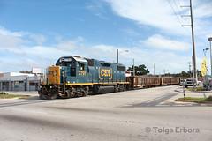Miami Street Running (TolgaEastCoast) Tags: csx miami train downtown spur y120 gp382 lance mindheim switching layout street runnin running industrial yard job local scrap metal