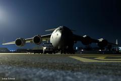 Qatar Emiri Air Force / Boeing C-17 / A7-MAP (schmidli123) Tags: zrh zurichairport zrhairport zrhapron freighter cargo military a7map boeing boeinglovers c17 globemaster nightshot qatar qataremiriairforce