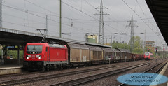 DB 187 114 (taurus00806) Tags: istván mondi db 187 114 berlin schönefeld banhof traxx 3 germany deutche bahn deutchebahn