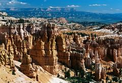 Bryce Canyon on film (1997) (mkk707) Tags: film analog 35mmfilm leicar4 leicasummicronr50 kodakgold100 brycecanyon desertsouthwest usa vintagelens vintagefilmcamera itsaleica germancameras