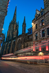 The Hub - Edinburgh Scotland (MichellePhotos2) Tags: thehub edinburgh scotland hub europe gothic spire tower architecture twilight evening night lightpainting bluehour nikon d850 nikond850 festival scotchwhiskeyexperience scotch whiskey experience royal mile royalmile