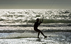 (Rob Millenaar) Tags: southafrica bloubergstrand dolphinbeach capetown kitesurfing light