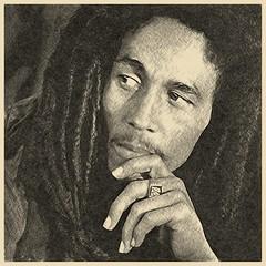 Retrato de Bob Marley (rasesp) Tags: bobmarley legend wailers buffalosoldier redemptionsong jamming linedrawing
