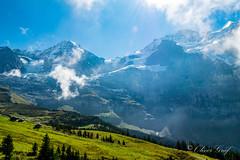 Kleine Scheidegg (olle.graf) Tags: 2018 olle berneroberland d3300 nikon schweiz september wengen switzerland berge eis ice jungfrau mönch mountain schnee snow lauterbrunnen bern