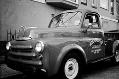 R1-064-30A (David Swift Photography) Tags: davidswiftphotography philadelphia trucks pickuptrucks vintagecars classiccars antiquecars dodgepickuptrucks philadelphiasalvagecompany ilfordxp2 olympusstylusepic 35mm film