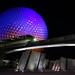 Epcot, Monorail, Spaceship Earth, Disney World